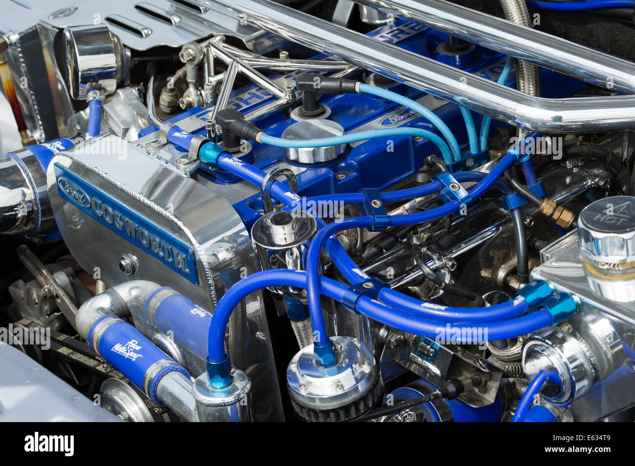 Ford-Cosworth-Motor Stockbild