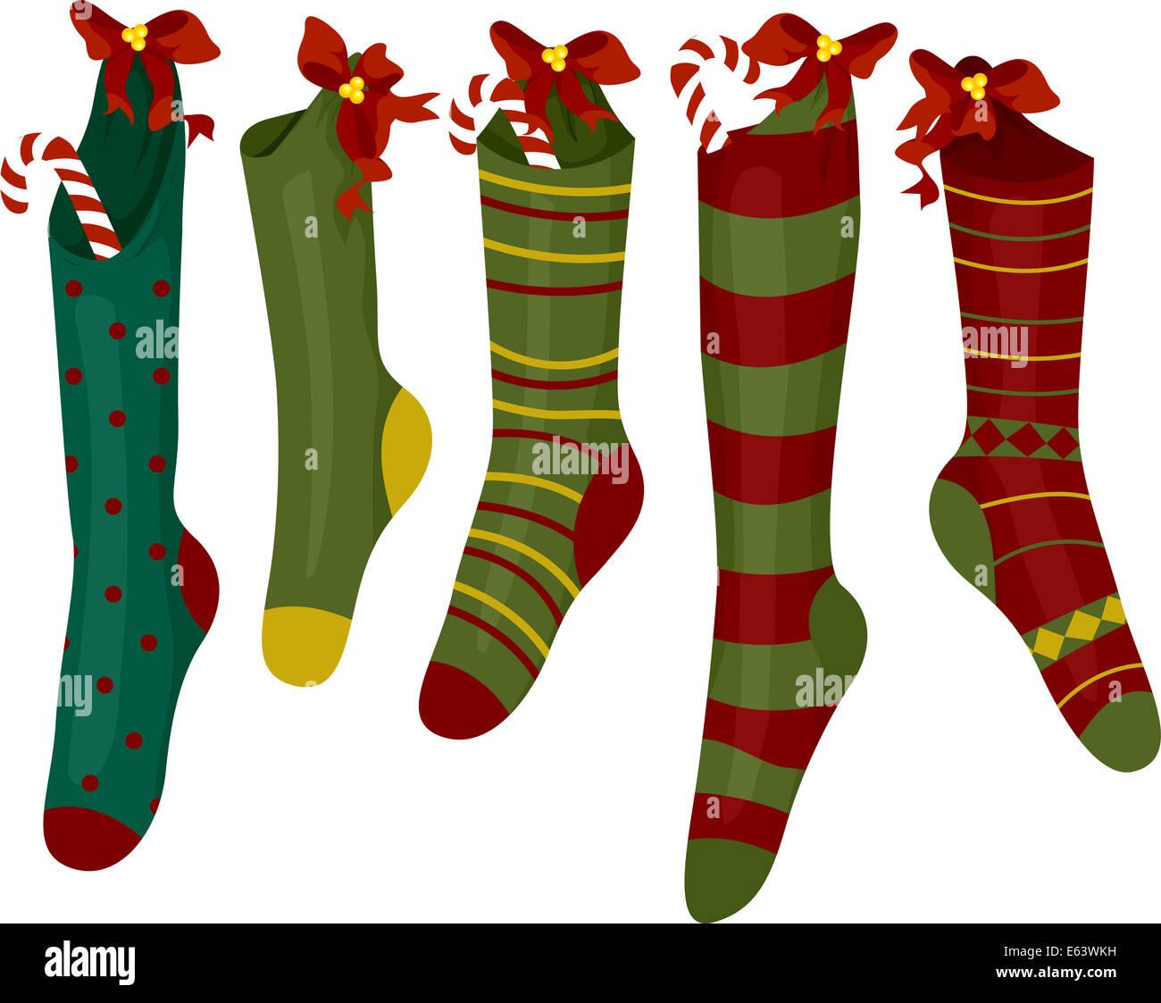 Clipart Weihnachtswunsch Für Weihnachten Stockfotos & Clipart ...