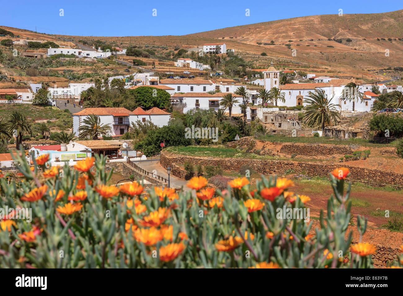 Betancuria-Fuerteventura-Kanarische Inseln-Spanien Stockbild