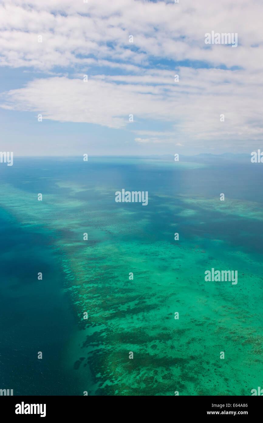 Great Barrier Reef, Nord-Queensland, Australien Stockbild