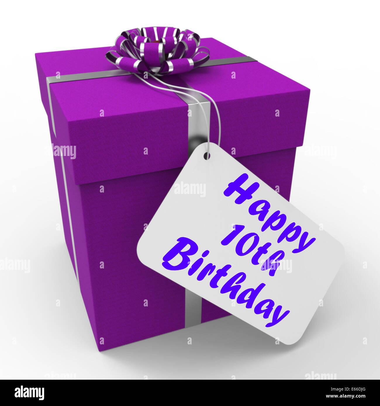 10 Geburtstag Geschenk Sinne Herzlichen Glückwunsch Alter
