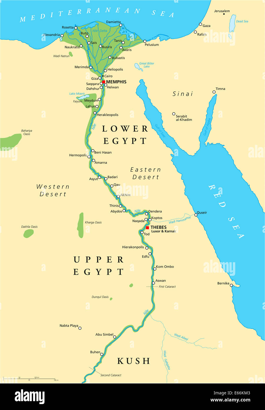 Map Ancient Alexandria Egypt Stockfotos & Map Ancient Alexandria ...