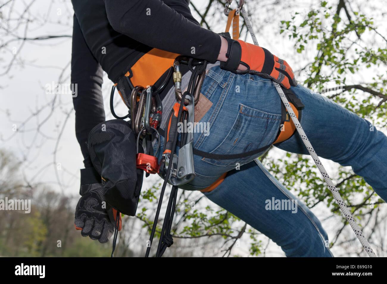 Kletterausrüstung : Kletterausrüstung am wilden kaiser