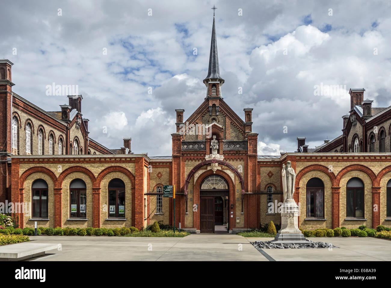 Dr. Guislain Museum über die Geschichte der Psychiatrie in der ehemaligen Guislain Hospiz, Belgiens erste psychiatrische Stockbild