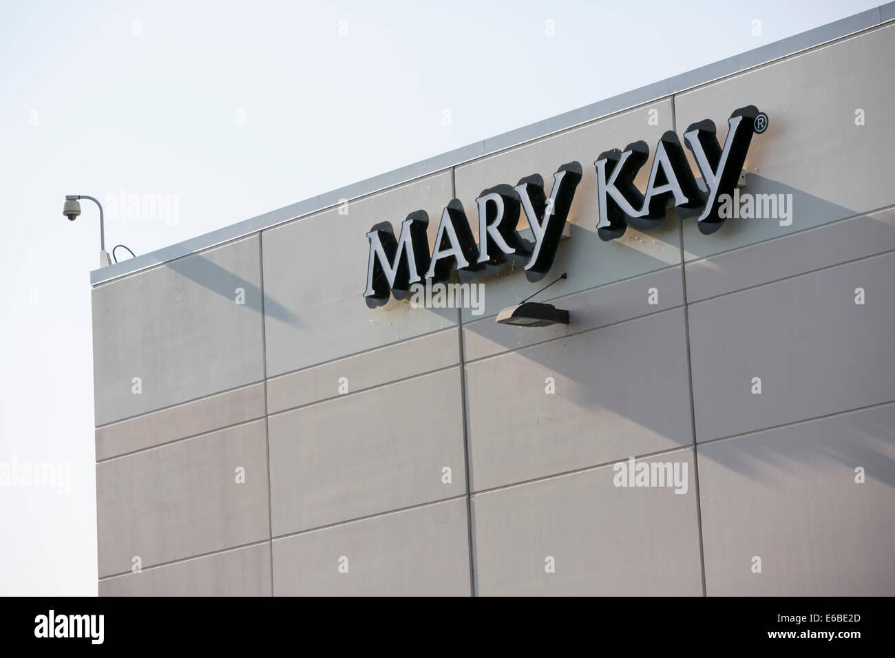 Ein Mary Kay Cosmetics Distributionszentrum in Hoffman Estates (Illinois). Stockbild
