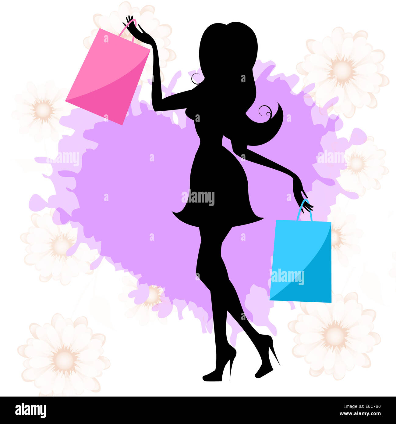 Frau Shopping