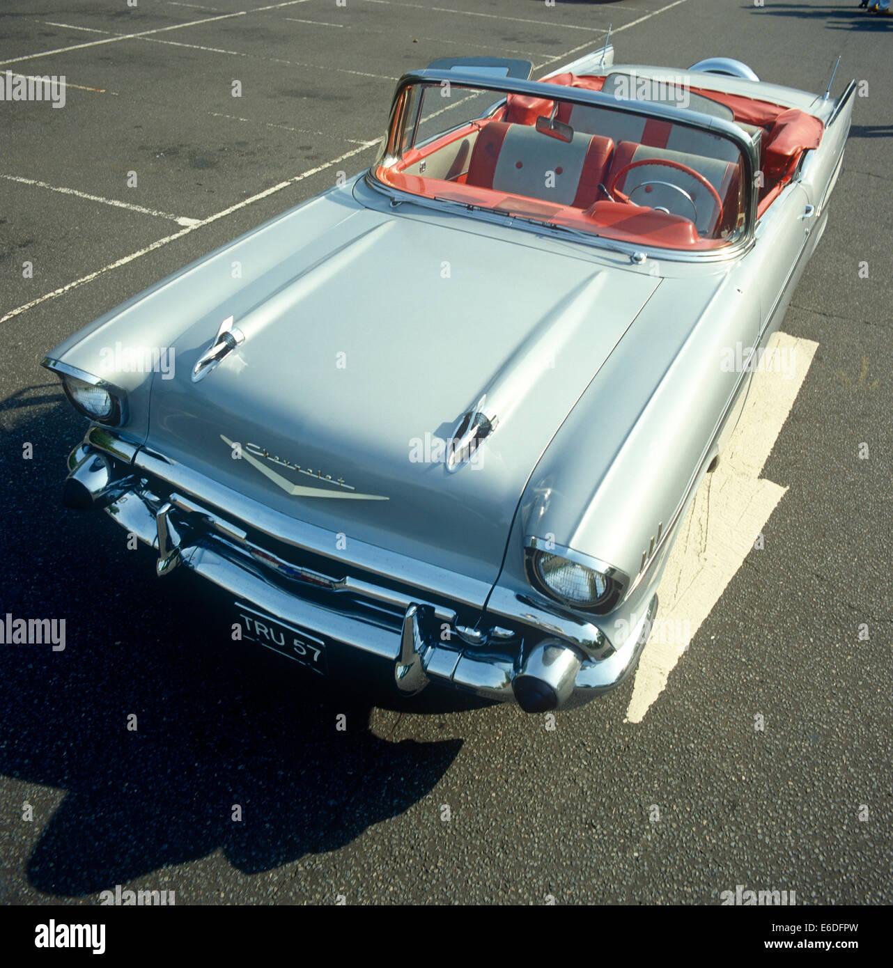 Klassische 1957 Chevrolet Stockbild