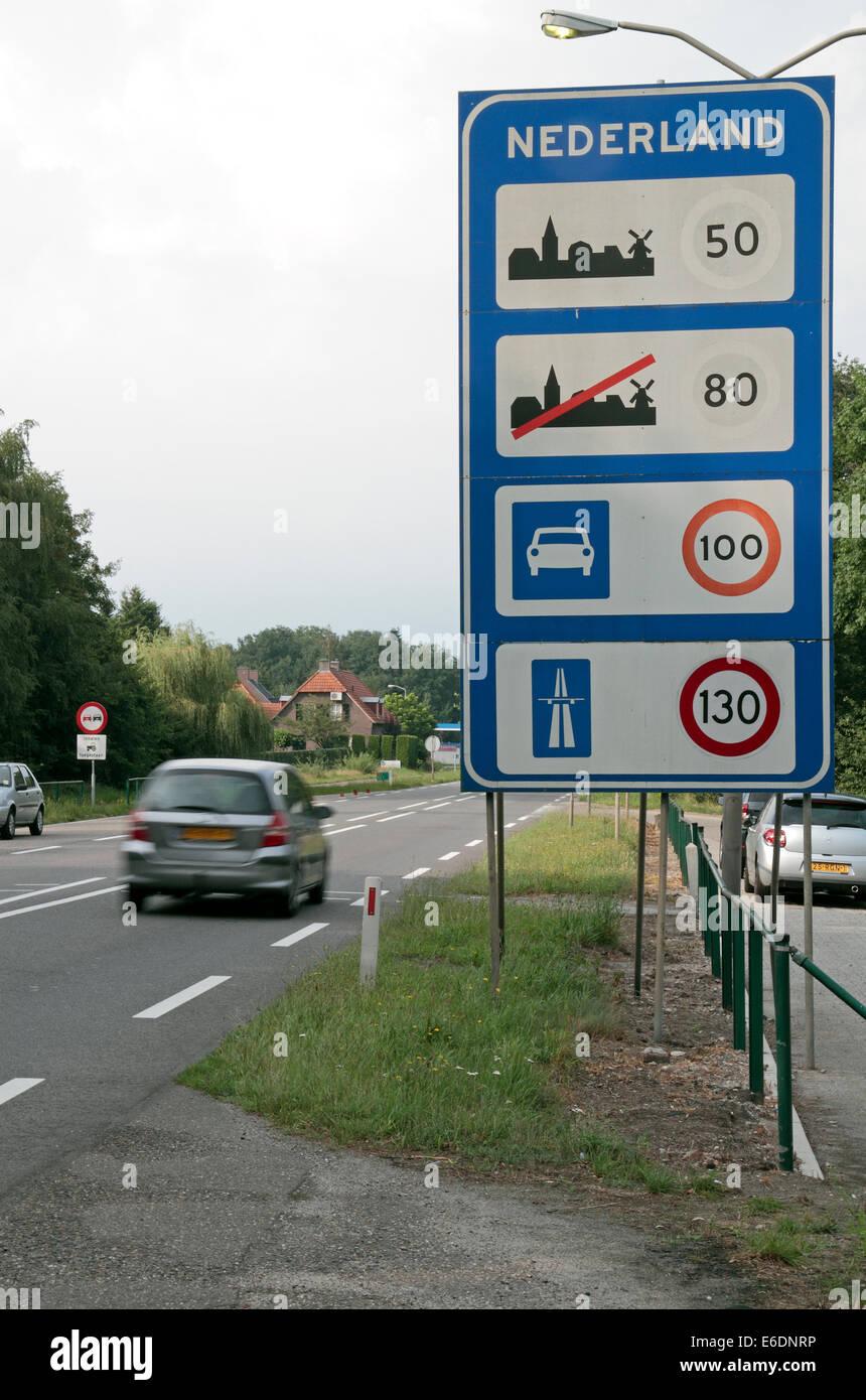 Geschwindigkeit Belgien