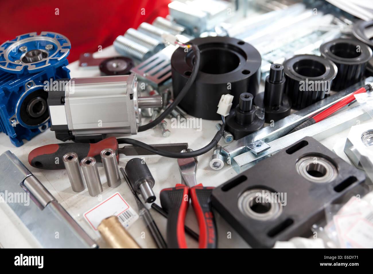 Engine Parts Stockfotos & Engine Parts Bilder - Alamy