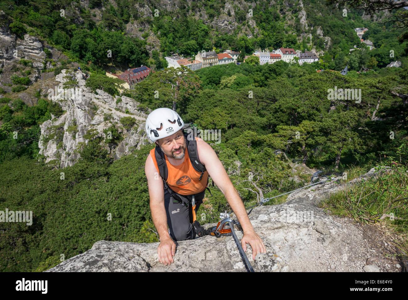 Klettersteig Niederösterreich : Bergsteiger mödlinger klettersteig mödling niederösterreich