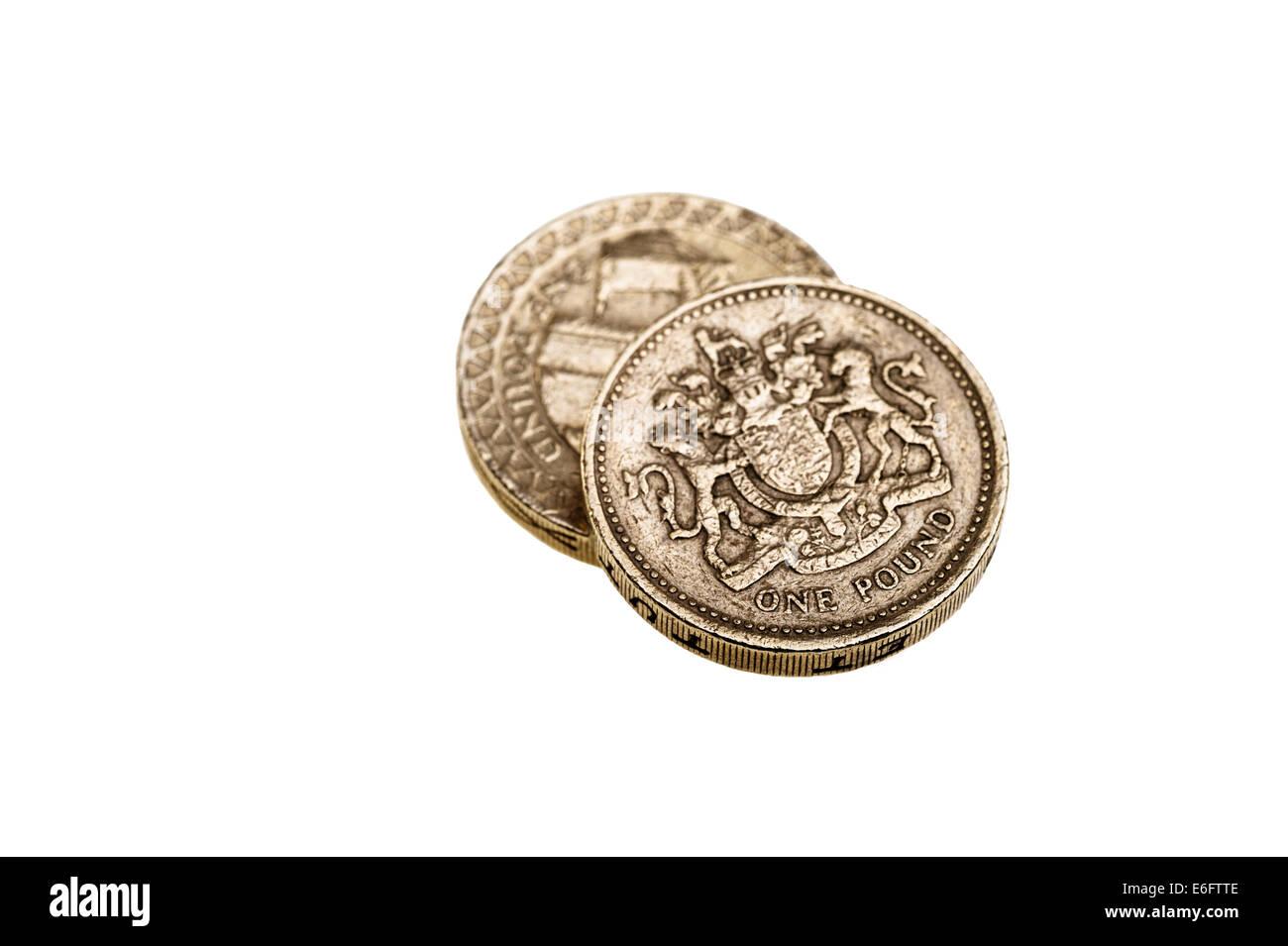 Zwei Pfund Münzen Stockfoto Bild 72878190 Alamy