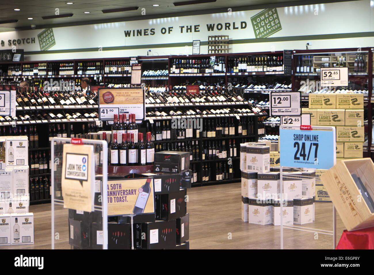 Dan Murphys Spirituosengeschäft aus Lizenz-Getränke-Einzelhändler in ...