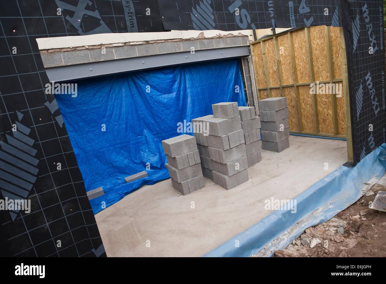 Steel Frame Home Stockfotos & Steel Frame Home Bilder - Alamy