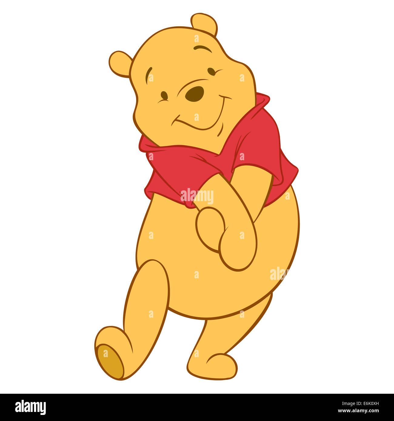 Winnie The pooh Stockbild