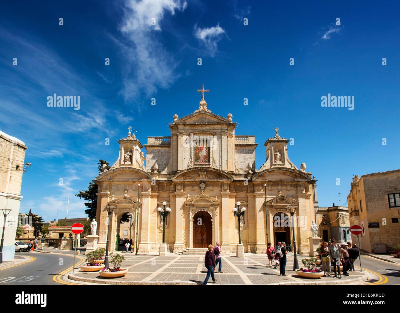 Chiesa di San Paolo, Rabat, Malta Stockbild