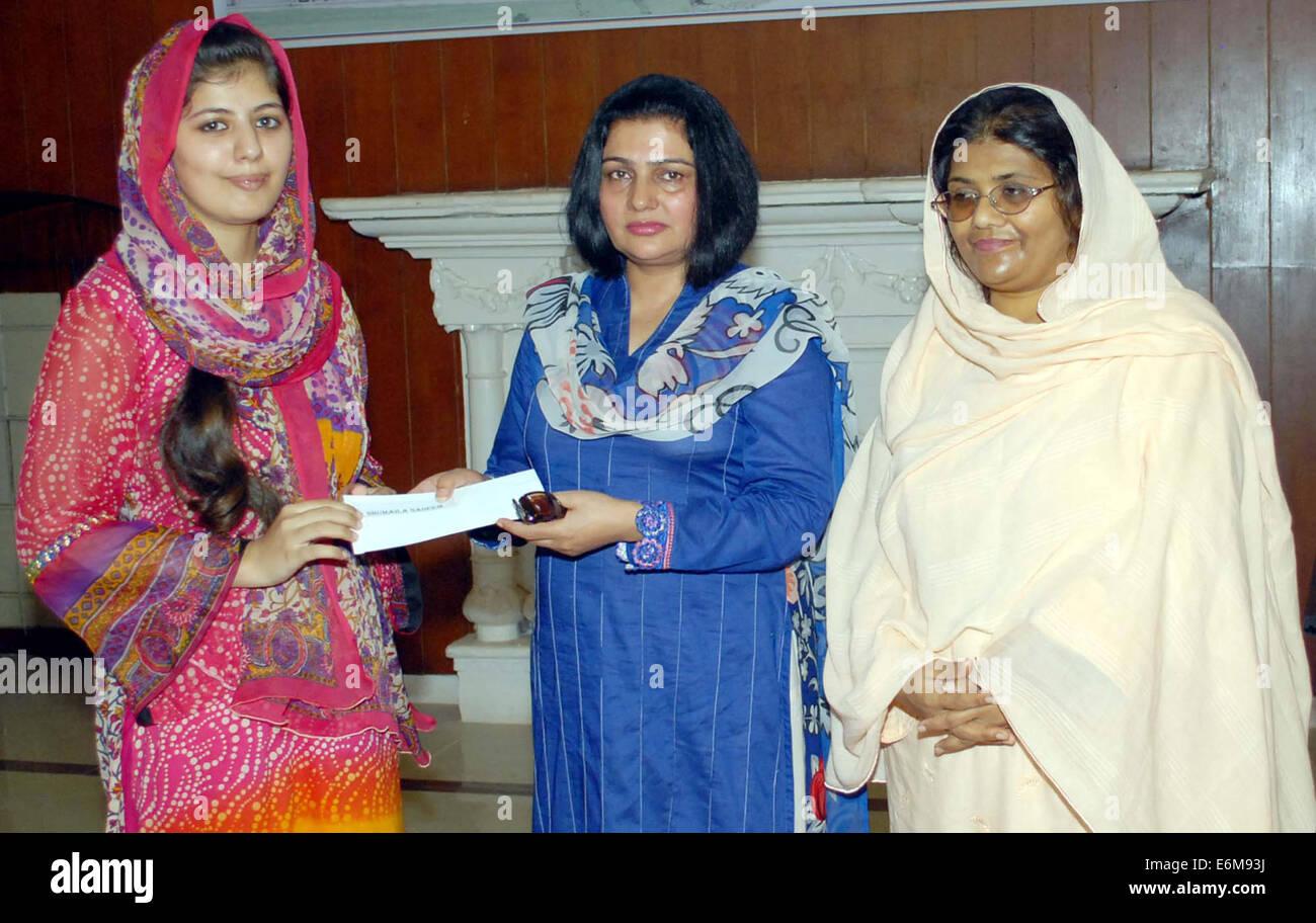 Stipendium Frauen pakistan 26 august 2014 shaheed benazir bhutto frauen universität