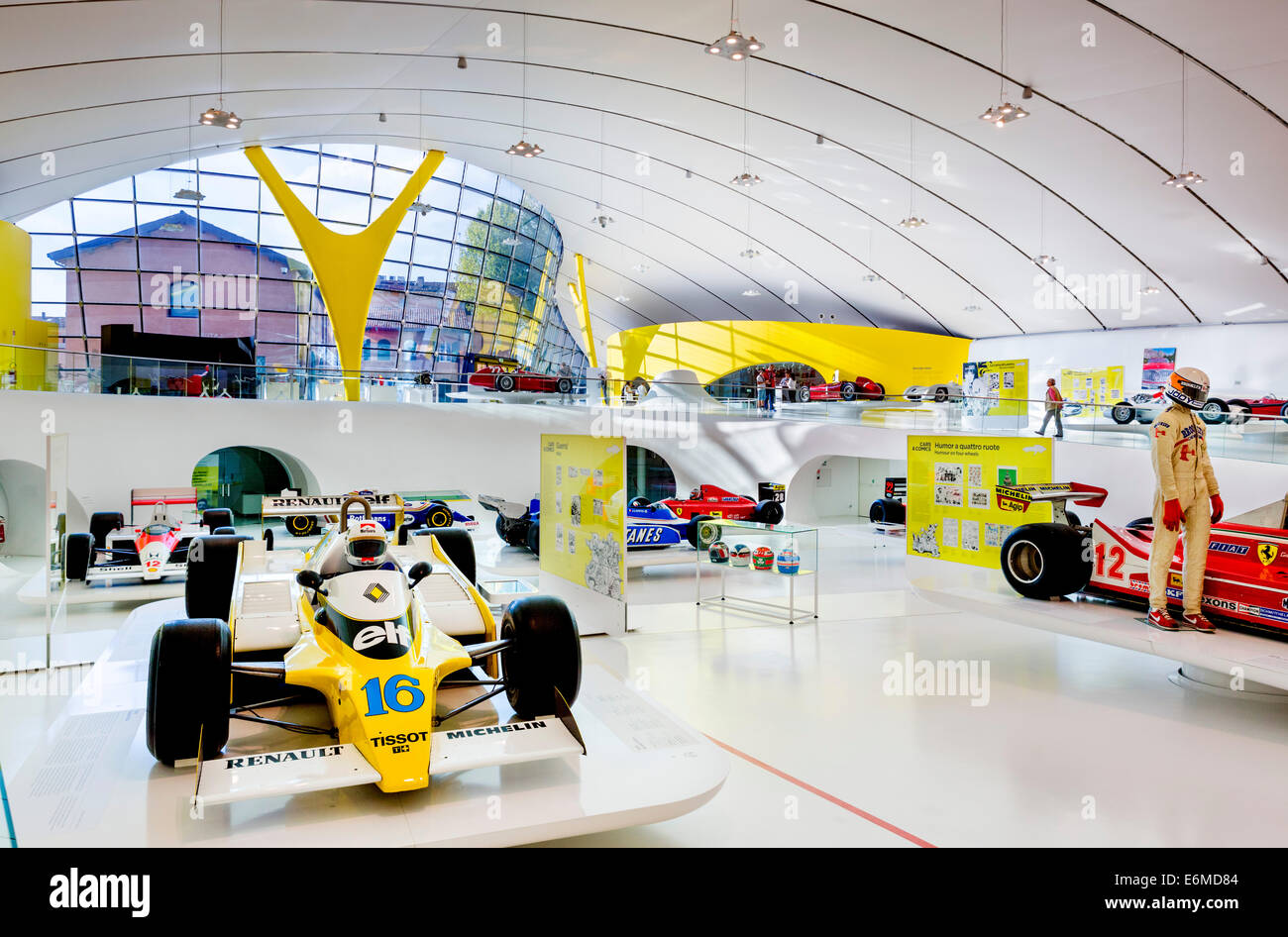 Das Museo Casa Enzo Ferrari Modena Emilia Romagna Italien Stockfotografie Alamy