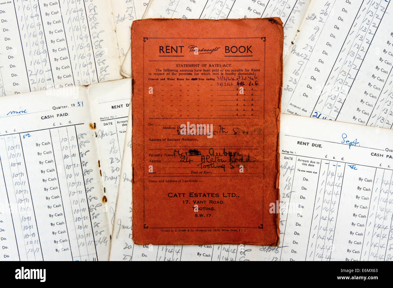 Accounting Book Stockfotos & Accounting Book Bilder - Alamy