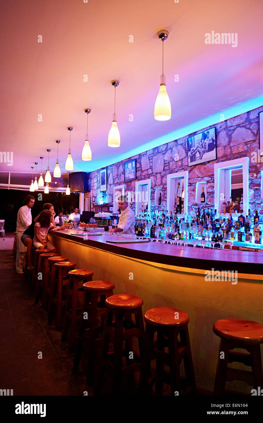 Bar Einrichtung In Der Nacht In Der Türkei Stockfoto Bild 72991356