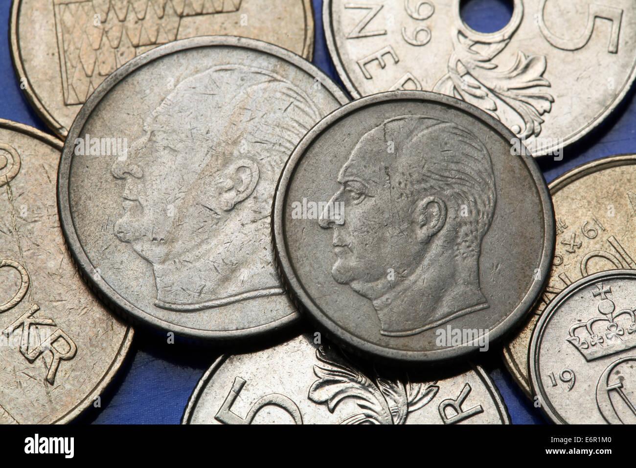 Münzen Von Norwegen König König Olav V Von Norwegen In Norwegische