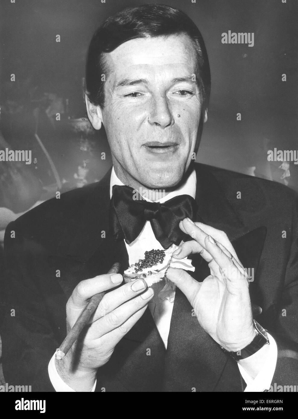 18 Januar 1975 München Deutschland Sir Roger George Moore Kbe