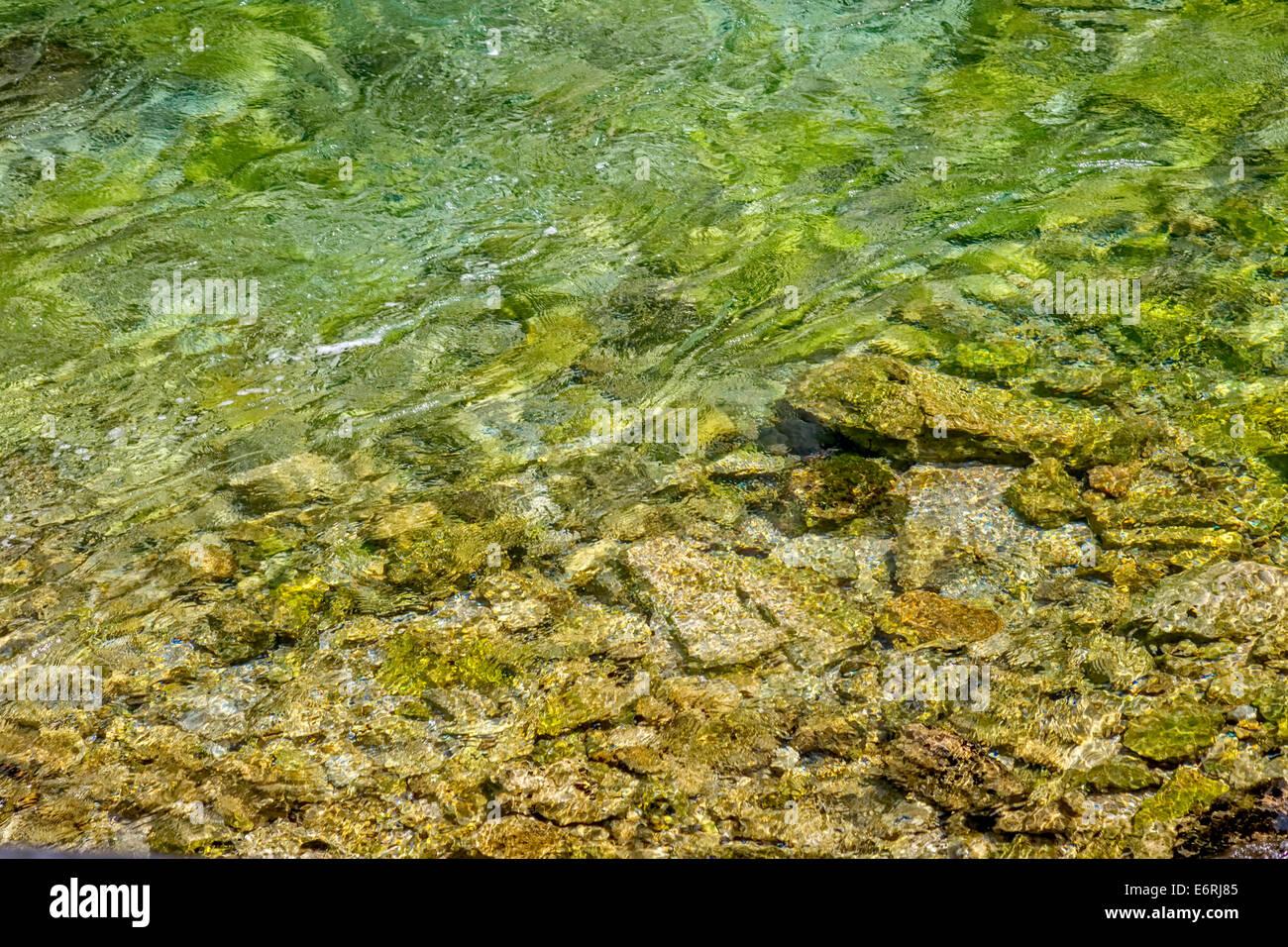 Wasser-Hintergrund Stockbild