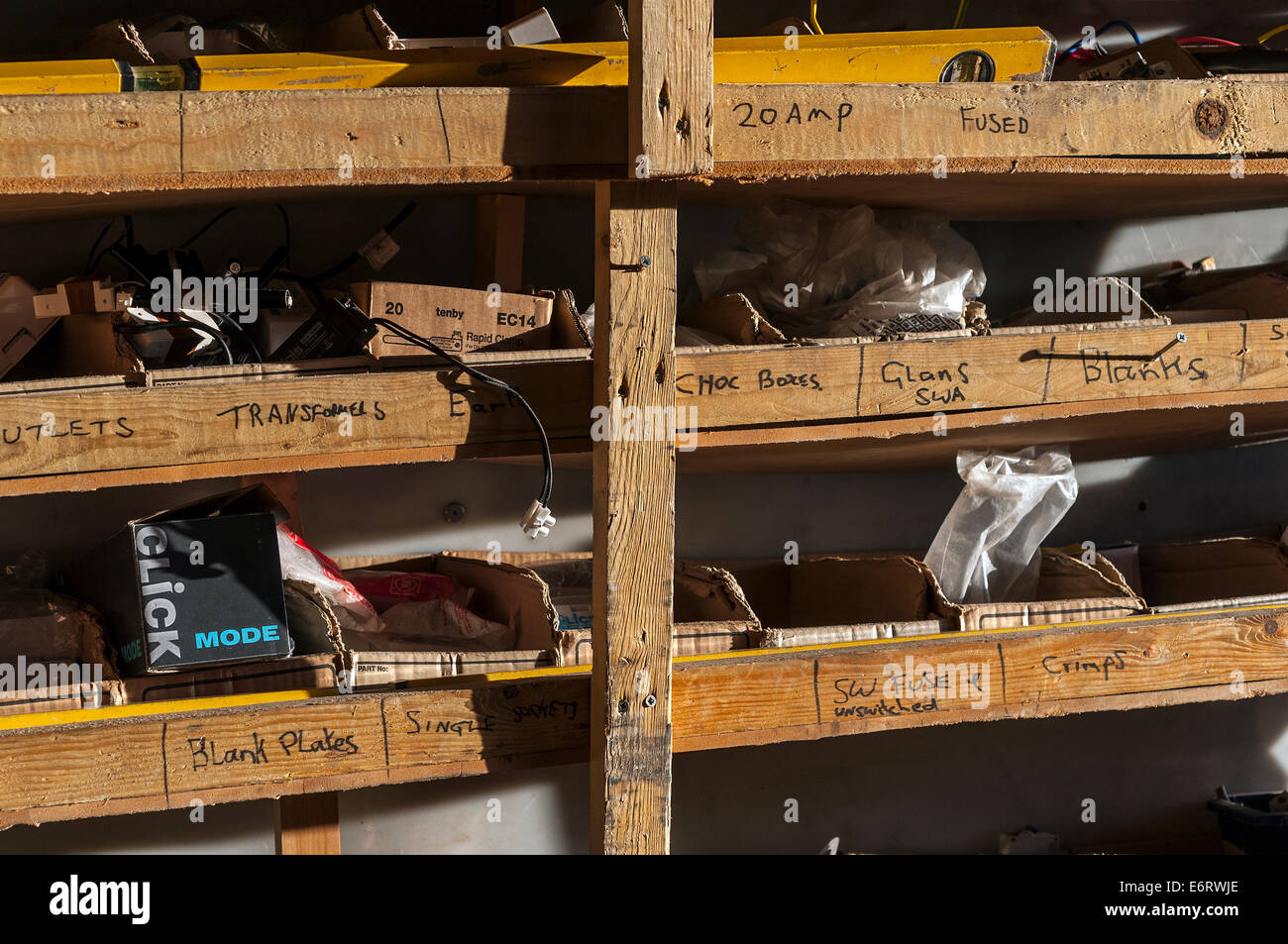 Home Wiring Stockfotos & Home Wiring Bilder - Alamy