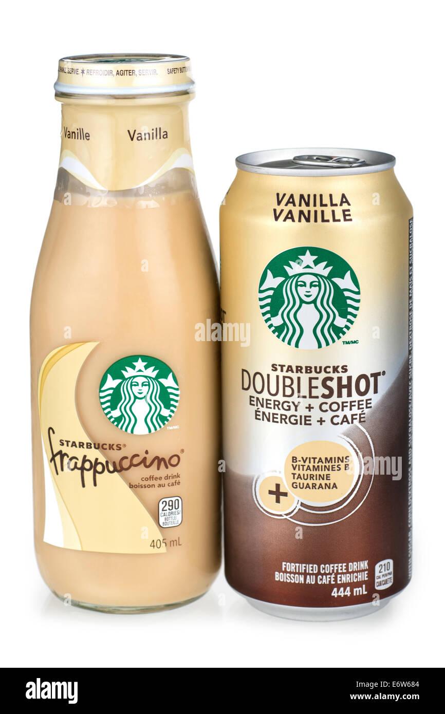 Starbucks Getränke gemischt Stockfoto, Bild: 73083140 - Alamy