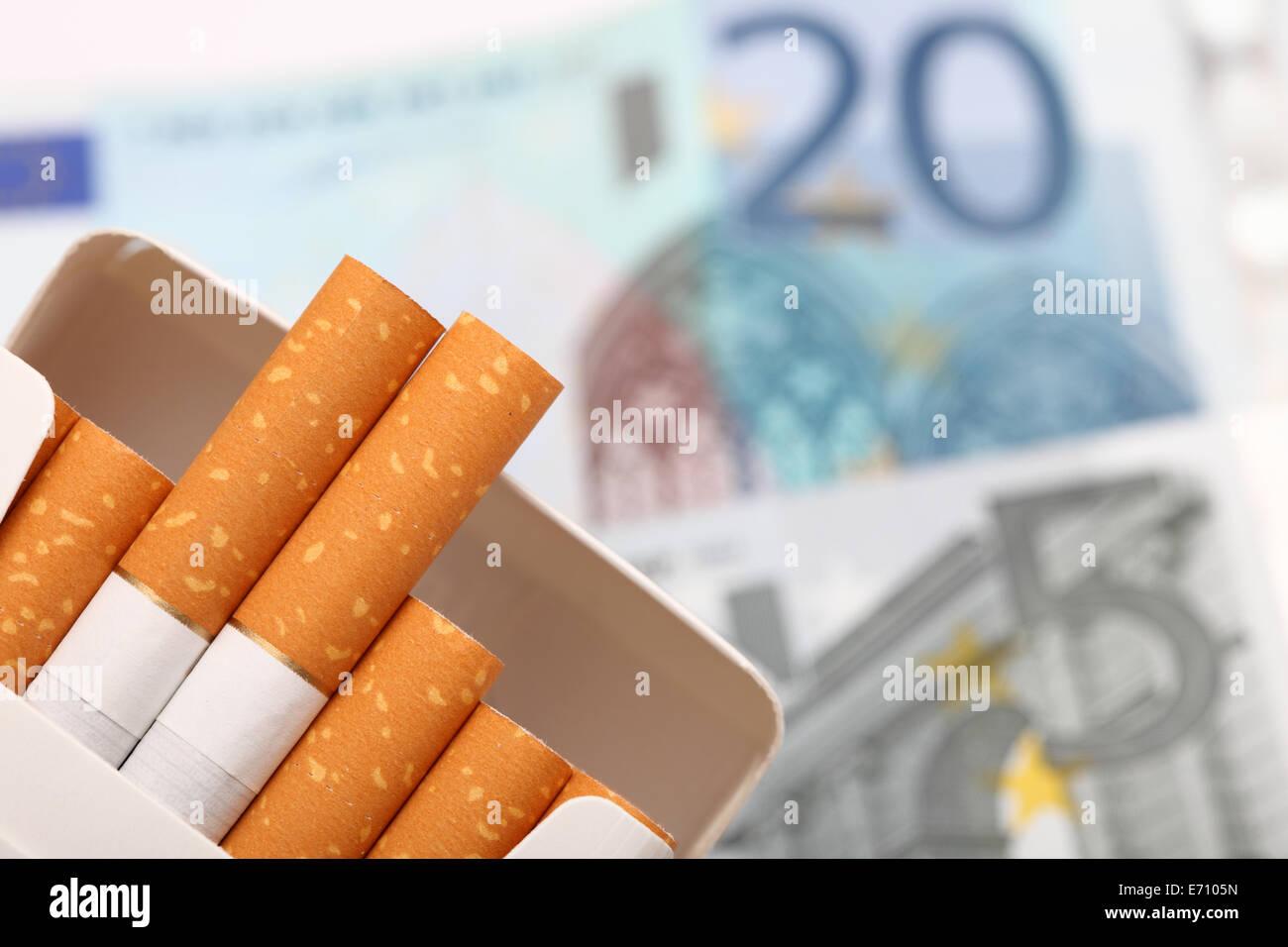 Was kostet eine stange zigaretten