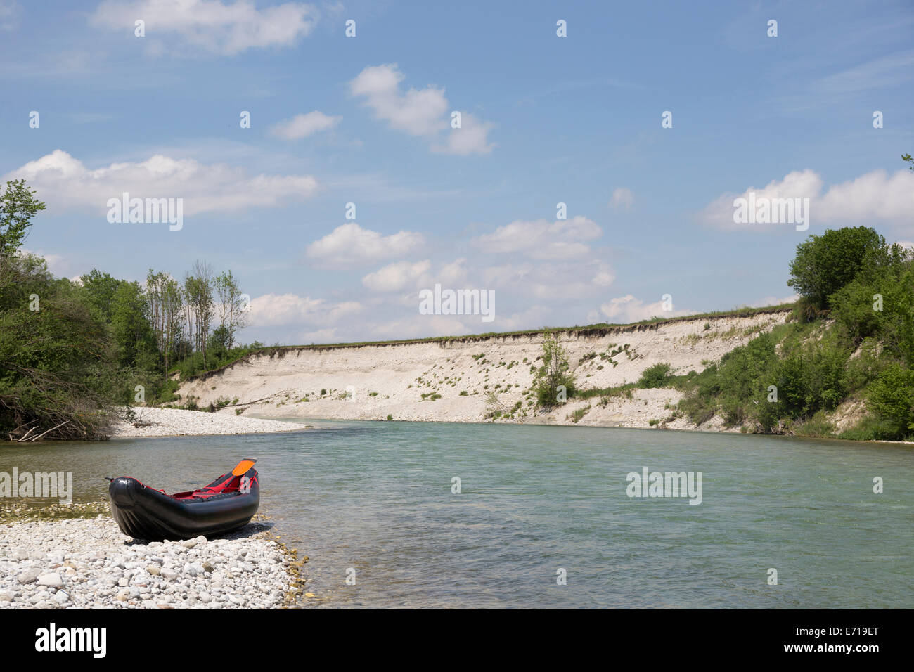 Rafting Isar Stockfotos & Rafting Isar Bilder - Alamy
