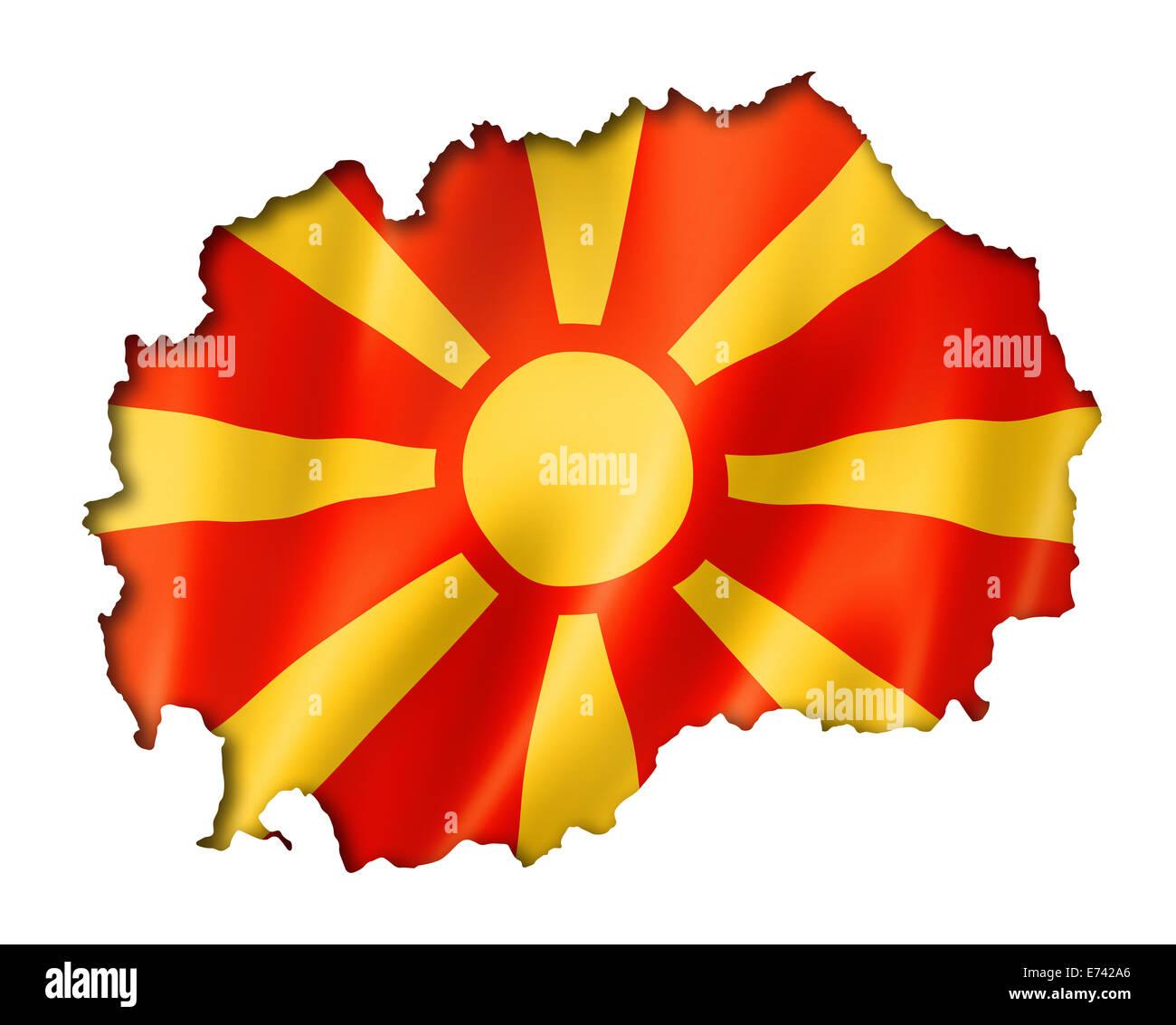 Map Of Macedonia Stockfotos & Map Of Macedonia Bilder