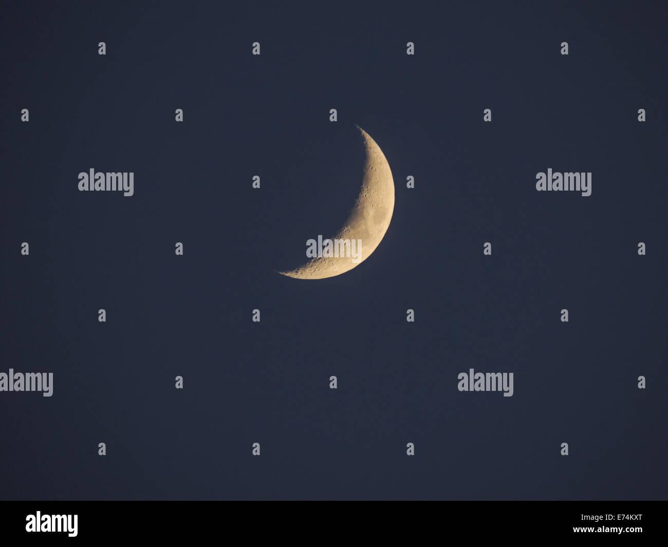 Crescent Moons Stockfotos & Crescent Moons Bilder - Alamy
