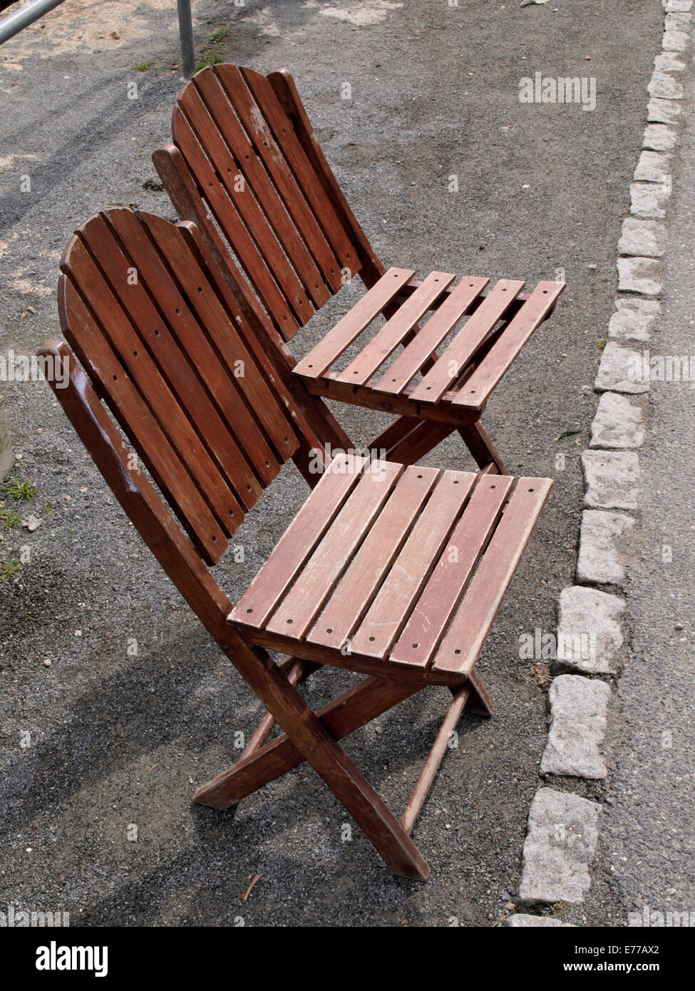 Fold Up Chair Stockfotos & Fold Up Chair Bilder - Alamy