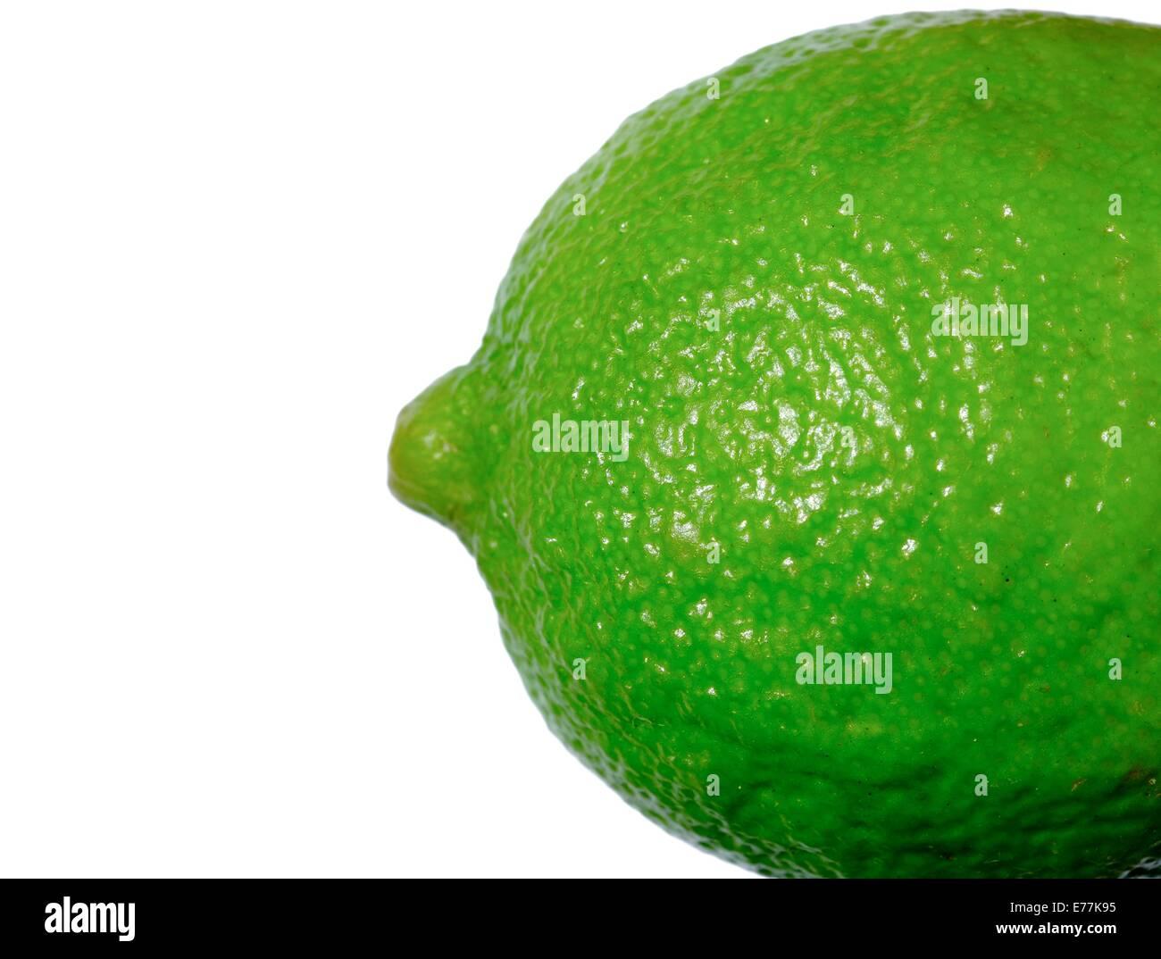 Ganze Lime Zitrusfrucht Stockbild