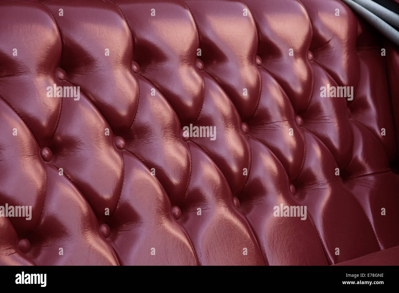 Leather Upholstery Stockfotos & Leather Upholstery Bilder - Alamy