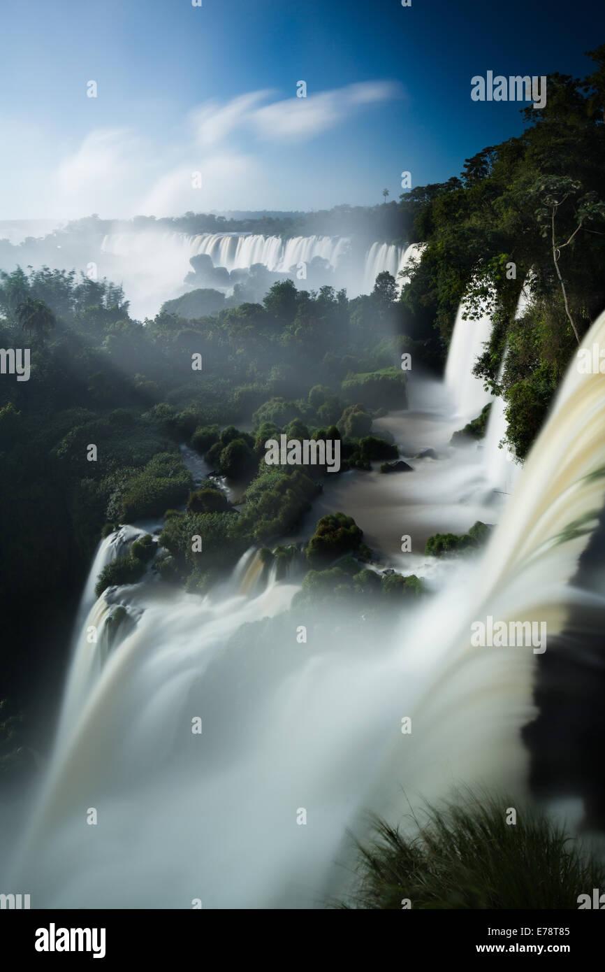 Iguazu Wasserfälle, Argentinien Stockbild