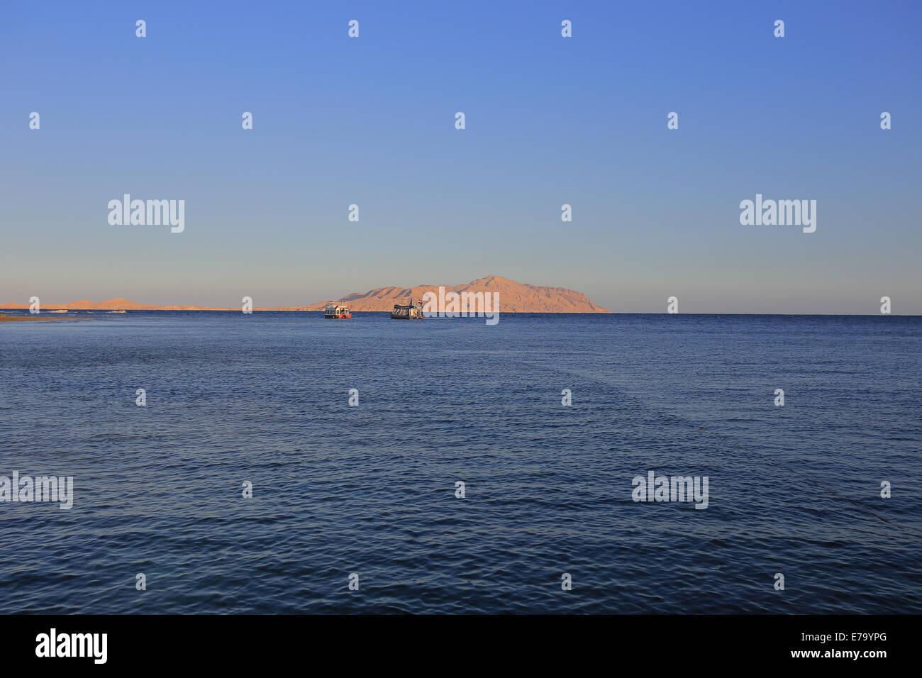 Rotes Meer Stockbild