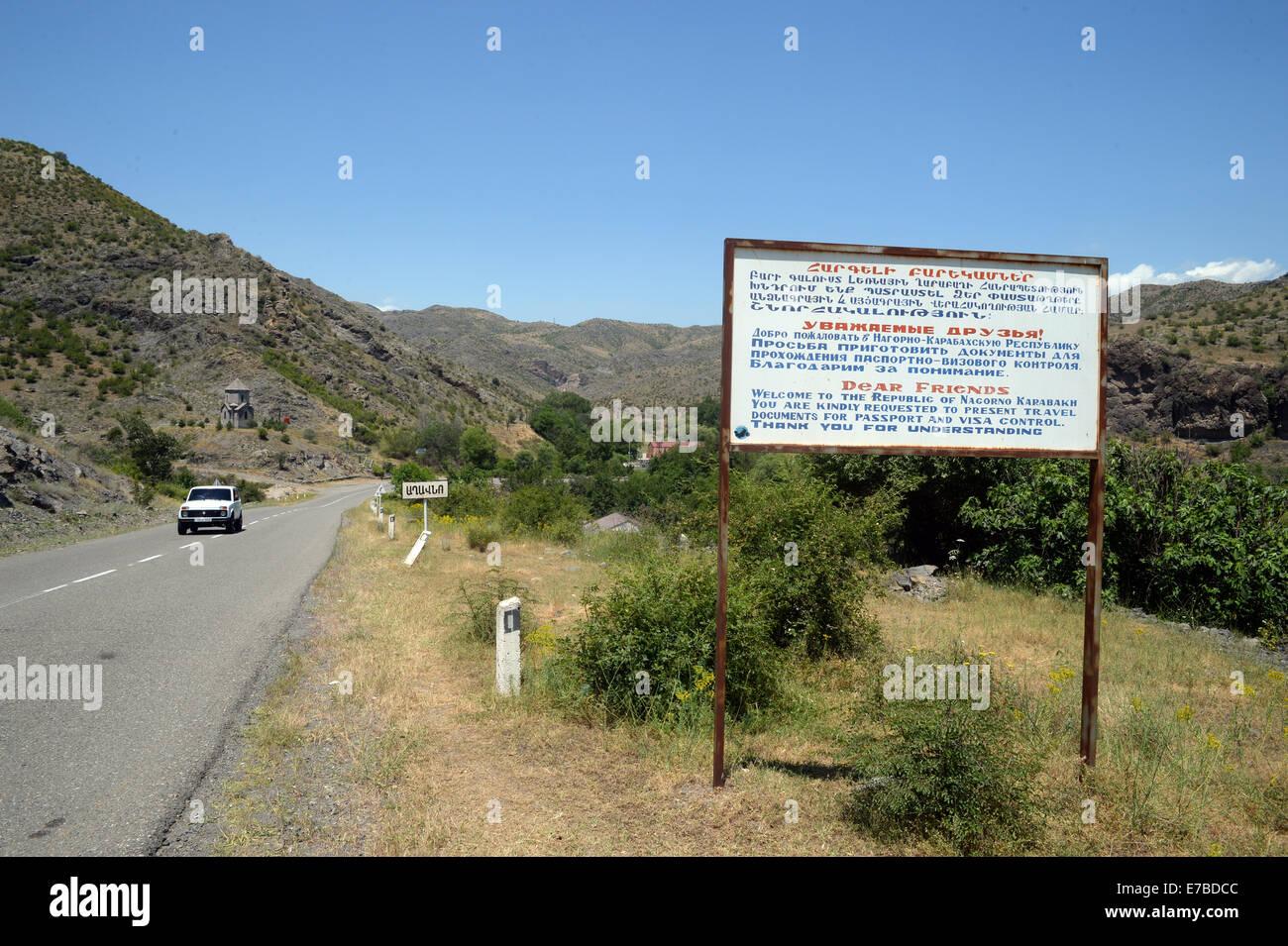 Eurasia Caucasus Region Nagorno Karabakh Independent Stockfotos Und Bilder Kaufen Alamy