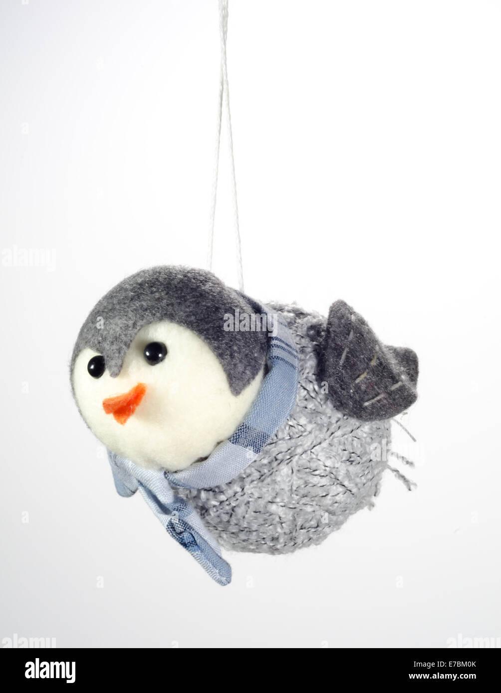 Ein Stoff Vogel Christbaumschmuck Stockfoto Bild 73401235 Alamy