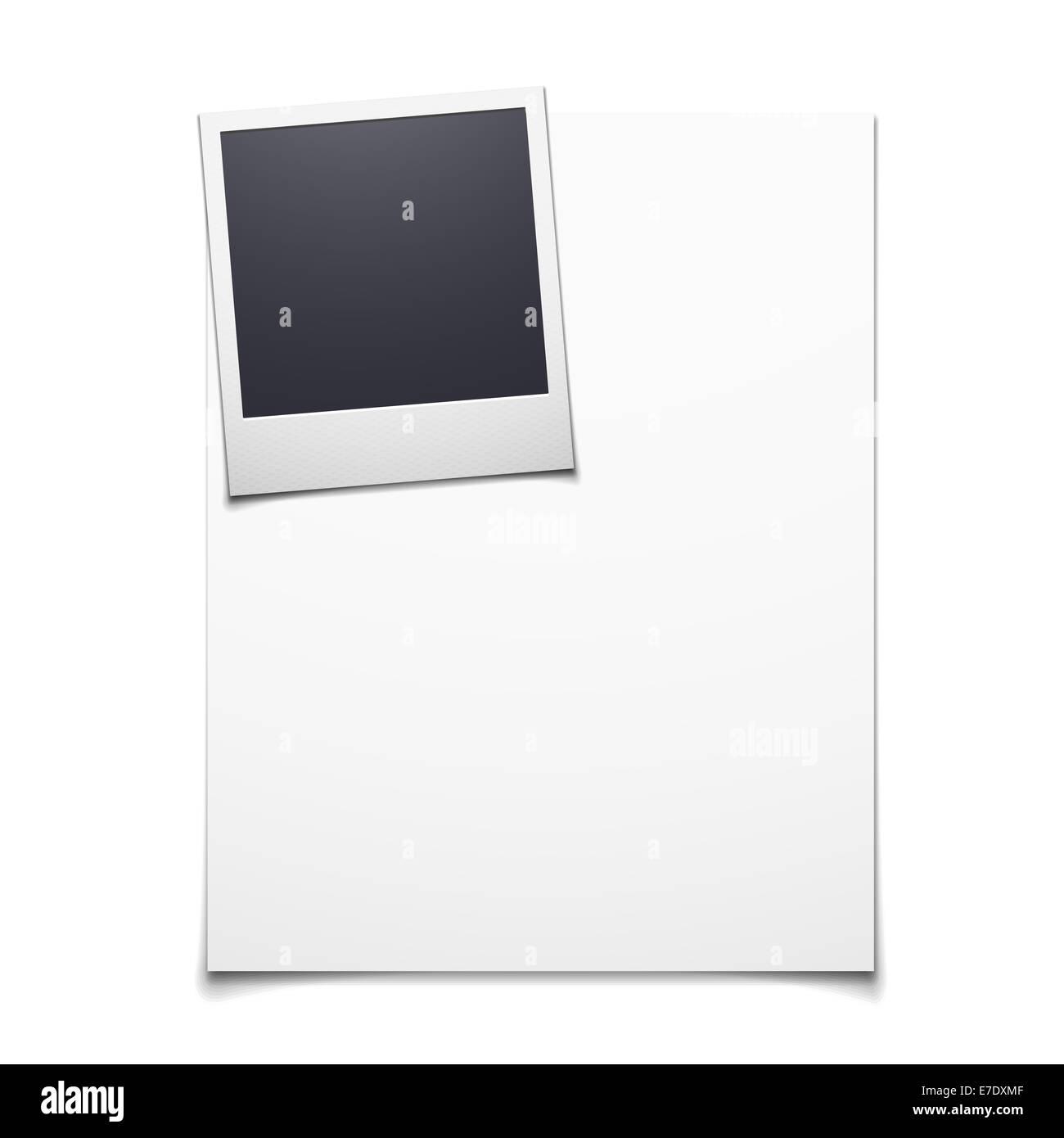 Nett Leere Polaroid Vorlage Galerie - Beispiel Anschreiben für ...