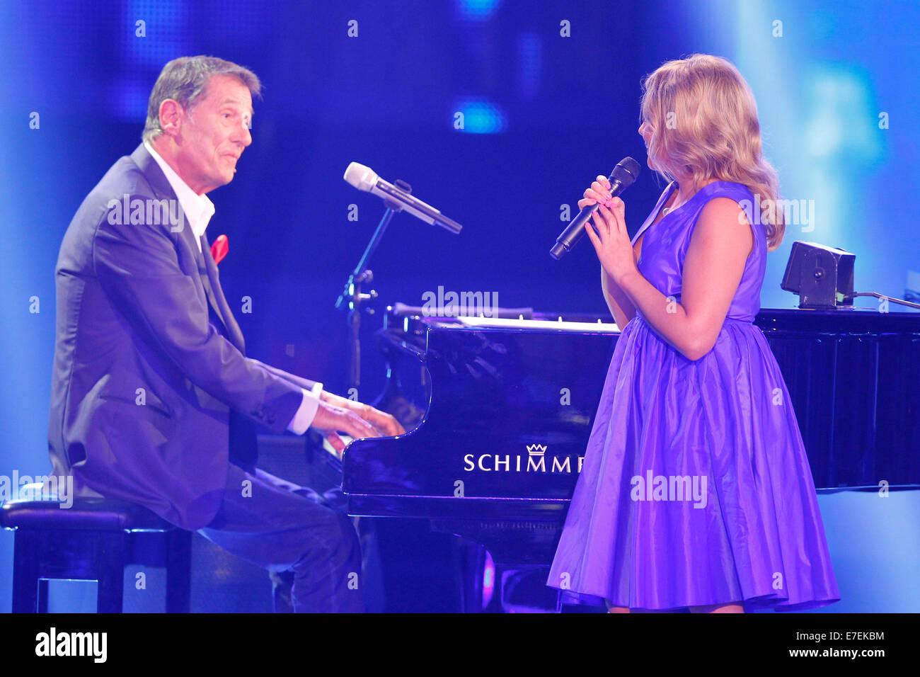 Freiburg Deutschland 1 September 2014 Zdf Gala Tv Show Für Udo