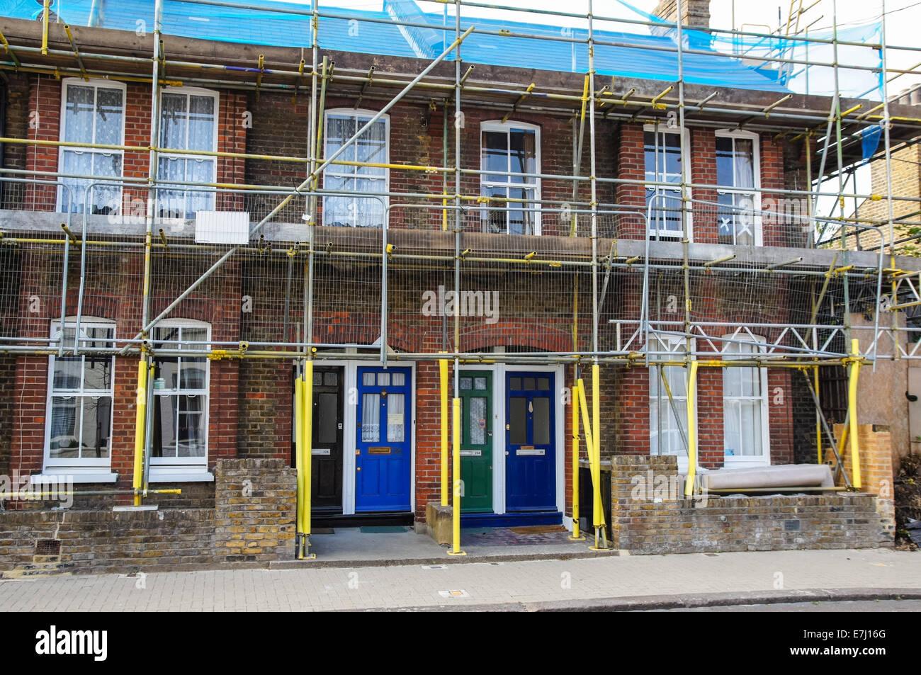 Hervorragend Gerüst auf Kosten des Hauses, London England Vereinigtes BG57