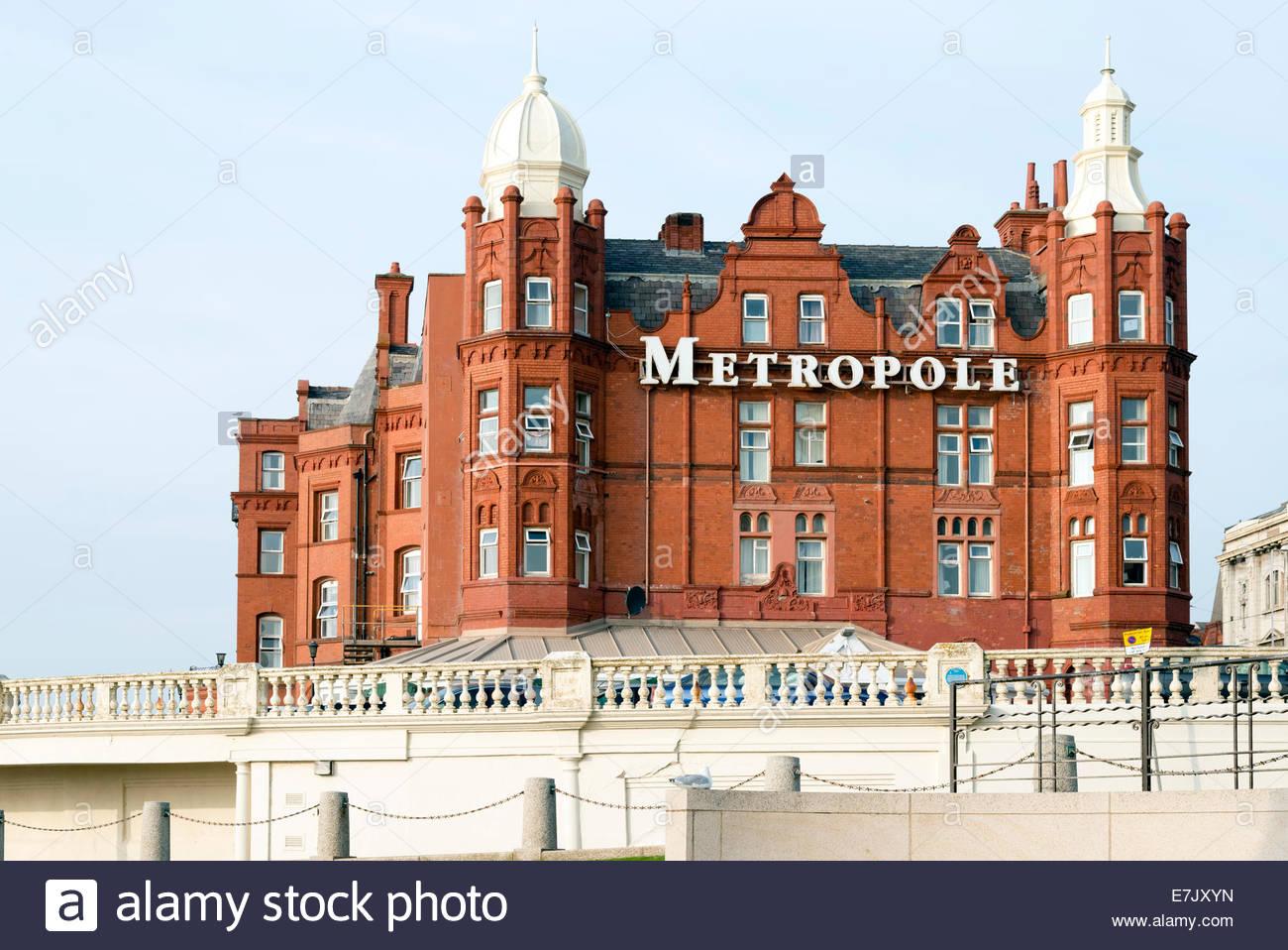 Metropole Hotel, Blackpool, Lancashire, UK. Stockbild