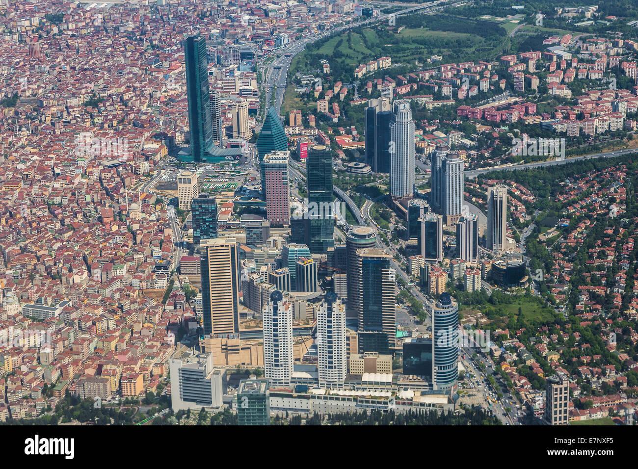 Istanbul levent t rkei architektur geb ude stadt for Moderne architektur gebaude