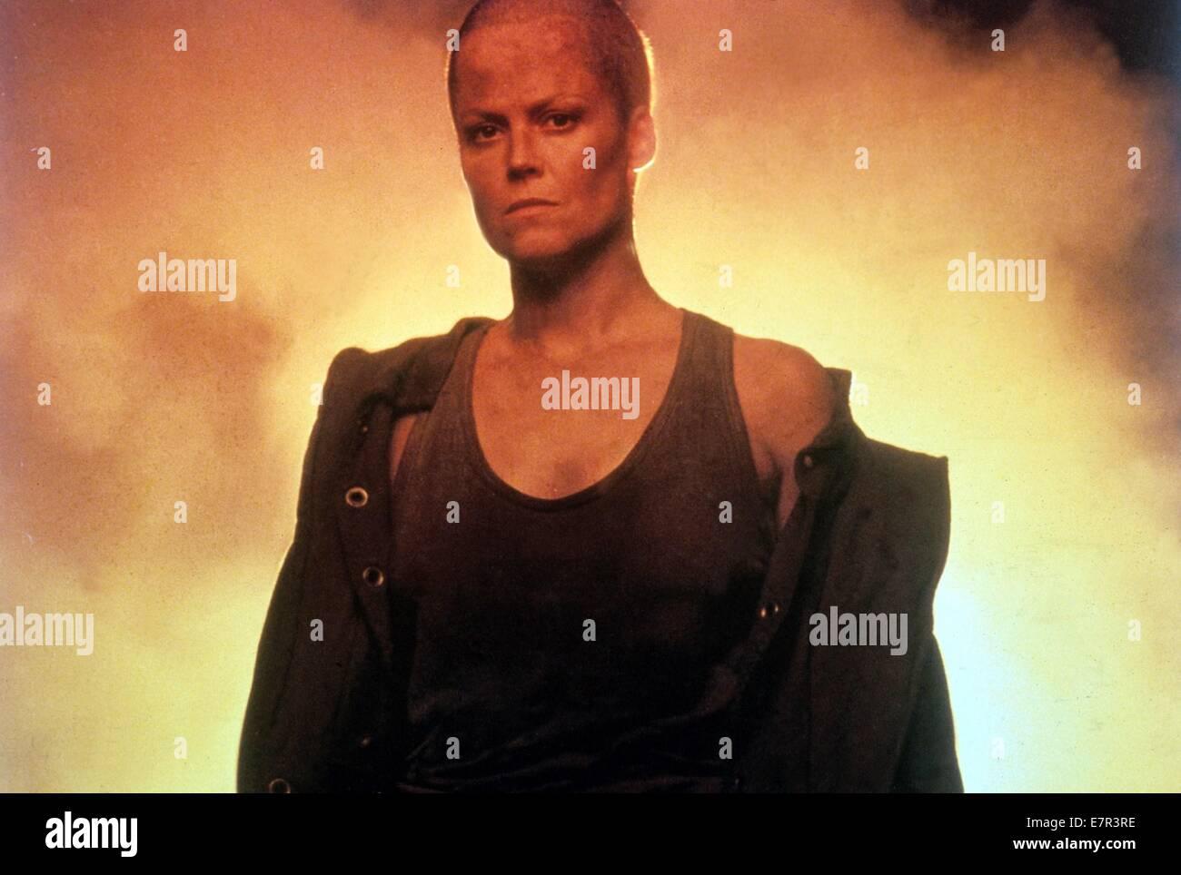 Alien 3 Jahr: 1992 USA Regie: David Fincher Sigourney Weaver Stockbild