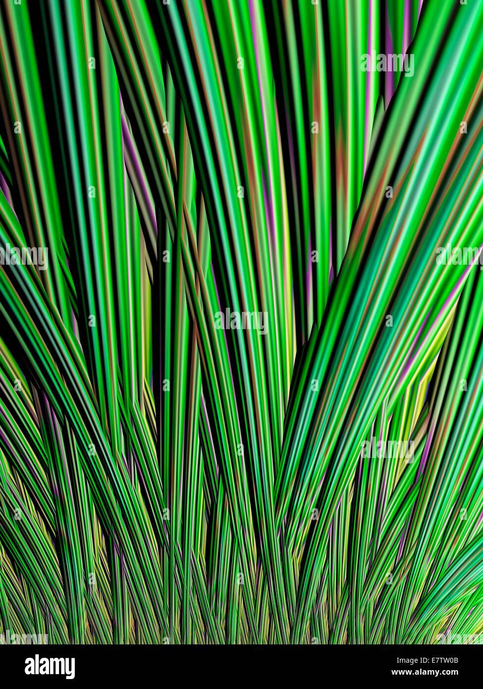 Julia-Fraktal. Computergenerierte Drachen Fraktale abgeleitet aus der Julia-Set. Fraktale sind Muster, die durch Stockbild