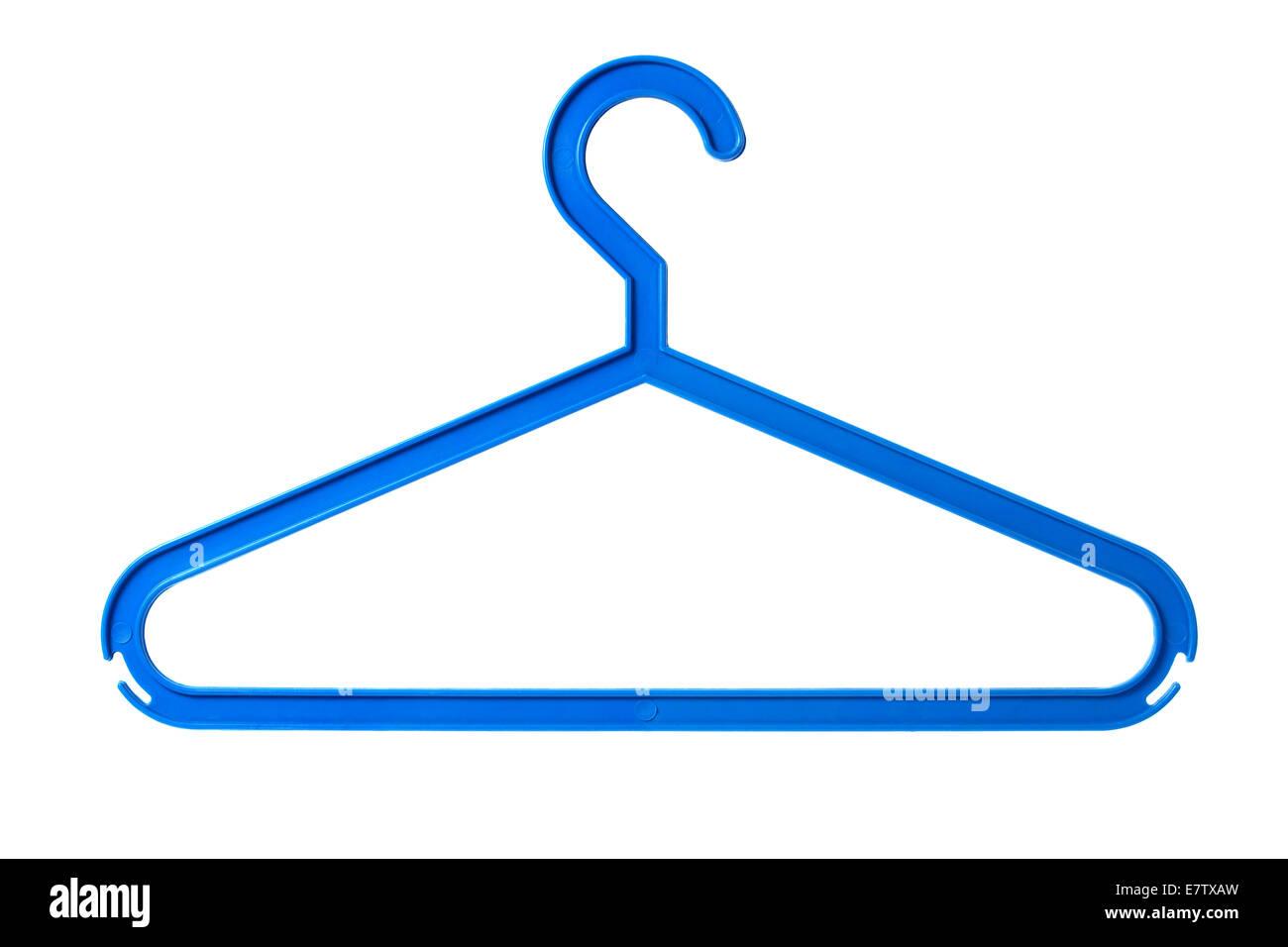 Kunststoff Kleiderbügel Stockbild