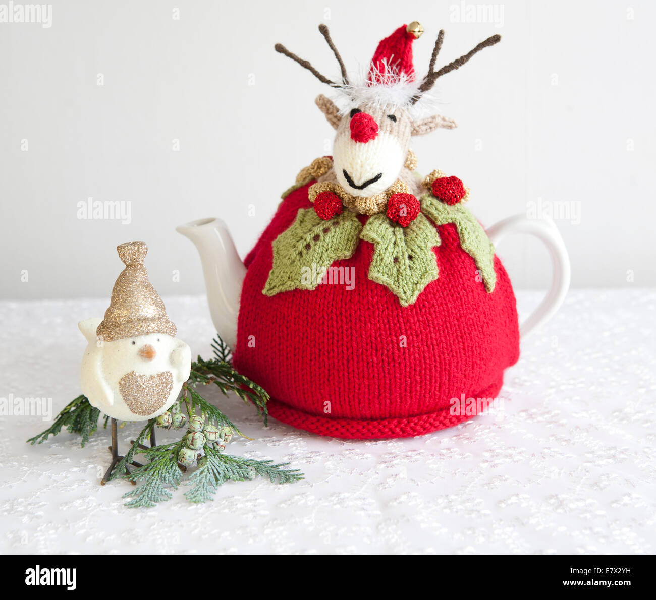 rudolph reindeer stockfotos rudolph reindeer bilder alamy. Black Bedroom Furniture Sets. Home Design Ideas