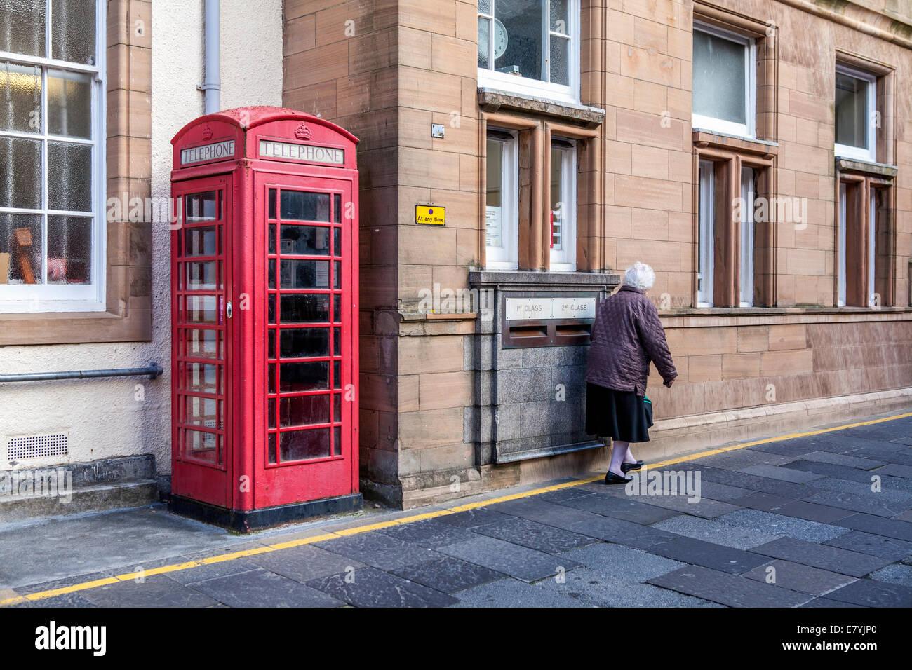 alte schottische Dame