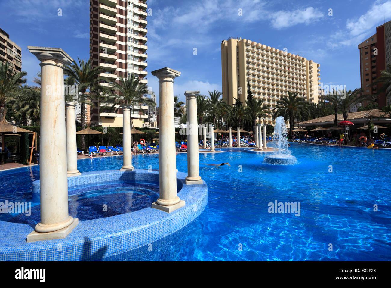 Aussenseite Des Sol Pelicanos Ocas Hotel Benidorm Resort Costa